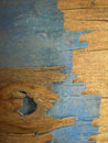 Old wall brown and blue wooden Royalty Free Stock Image