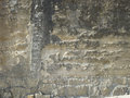 Old wall eroded and weathered texture Royalty Free Stock Photos