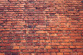 Old wall of red brick. grunge texture.