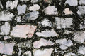 old wall rock pattern and texture Royalty Free Stock Photo