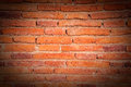 Old wall texture detail of brick stripes blocks brown Royalty Free Stock Photos