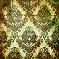 Old wallpaper Royalty Free Stock Photo