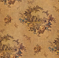 Old wallpaper seamless texture Royalty Free Stock Photo
