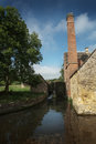 Old water mill lower slaughter cotswolds picture of england Stock Photography