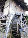 Old water mill-wheel Royalty Free Stock Photo