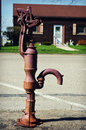 Old Water Pump Royalty Free Stock Photo