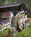 Old watermill at a farm Royalty Free Stock Photo