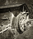 Old watermill at a farm Royalty Free Stock Photography
