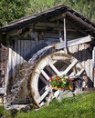 Old watermill at a farm Stock Image