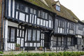Old wattle houses at hastings view of on a street in the historic village of east sussex Stock Photos