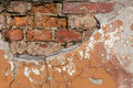 Old weathered brick wall Stock Photography