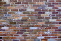 Old, Weathered Brick Wall