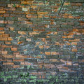 Old weathered and broken wall Royalty Free Stock Photo