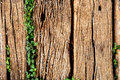 Old Weathered Cracked Wooden railroad tie Texture Royalty Free Stock Photo