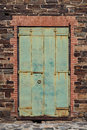 Old Weathered Iron Door Royalty Free Stock Photo