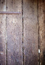 Old weathered oak door close up background Stock Image
