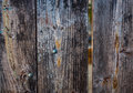 Old Weathered Wood Gate  With ...