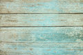 Old weathered wood plank painted in blue Royalty Free Stock Photo