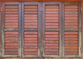 Old and weathered wooden window Royalty Free Stock Photo