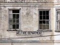 Old Welfare Building Royalty Free Stock Images