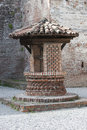 Old well in the castle an Stock Photos