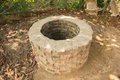 An old well at cultural village Royalty Free Stock Photo