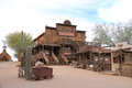 Old west saloon mammoth in goldfield arizona usa goldfield is an gold mining town located on the historic apache trail an adobe Stock Photography