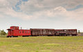 Old Western Train Royalty Free Stock Photography