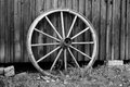 Old wheel picture of an Stock Images
