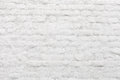 Old white painted brick wall Royalty Free Stock Photo