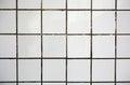 Old white tile Royalty Free Stock Photo