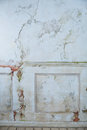 stock image of  Old white vintage wall craquelure
