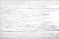Old white wood background, rustic wooden surface with copy space Royalty Free Stock Photo