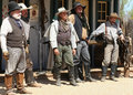 Old Wild West Gunfighters Royalty Free Stock Photo