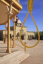 Old Wild West Town Hangman Justice Royalty Free Stock Photo