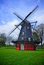 Old windmill in copenhagen denmark Royalty Free Stock Image