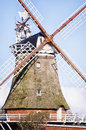 Old windmill at the netherlands Stock Image