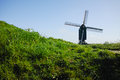 Old windmill in Netherlands Royalty Free Stock Photo