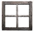 Old window frame Royalty Free Stock Photo