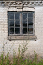 Old window and wall Royalty Free Stock Photo