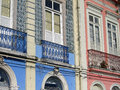 Old windows detail of a building belem amazonia brazil Royalty Free Stock Photography