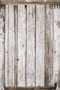 Old wood door painted background the grungy and weathered wooden panel is cracked and peeling the exterior faded paint the rotten Royalty Free Stock Images