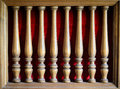 Old wood furniture decoration Royalty Free Stock Photo