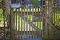 Old wood gate Royalty Free Stock Photo