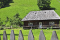Old wood house rustic build in Royalty Free Stock Photos