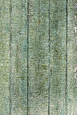 Old wood painted green fence texture Royalty Free Stock Photo