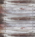 Old wood panels Royalty Free Stock Images