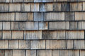 Old wood shingle Royalty Free Stock Photo