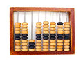 Old Wooden Abacus Royalty Free Stock Photo