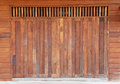 Old wooden barn door timber vertical wall weathered wood Stock Photography